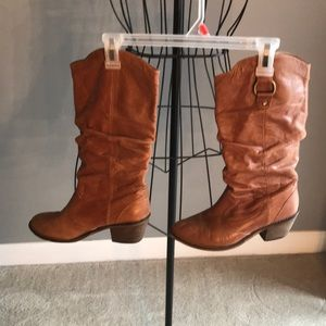 Steve Madden Brown Cowgirl Boots